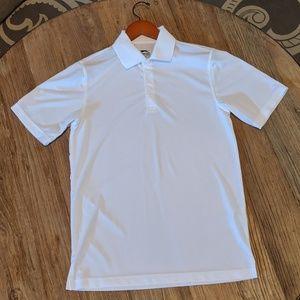 White golf polo shirt (slazenger)